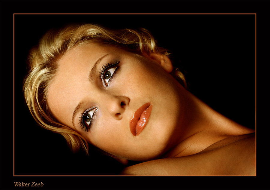Moviestar   curls, blonde, woman