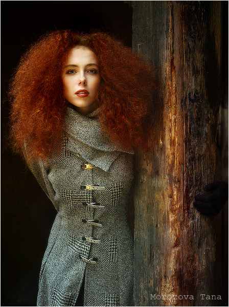 Read my thoughts, like letters | woman, curls, redhead