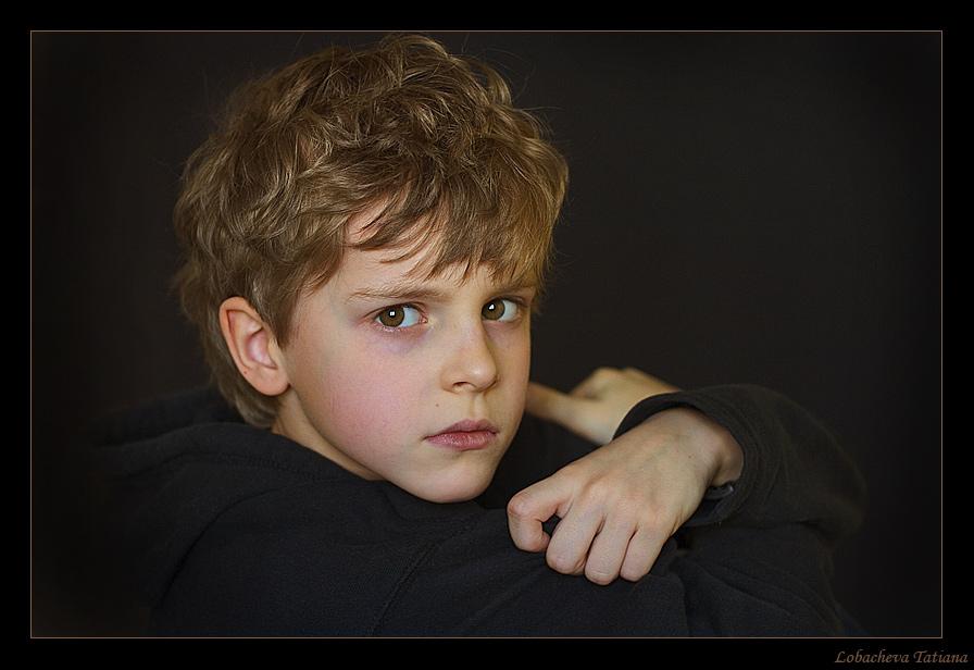 Boy | child, curls