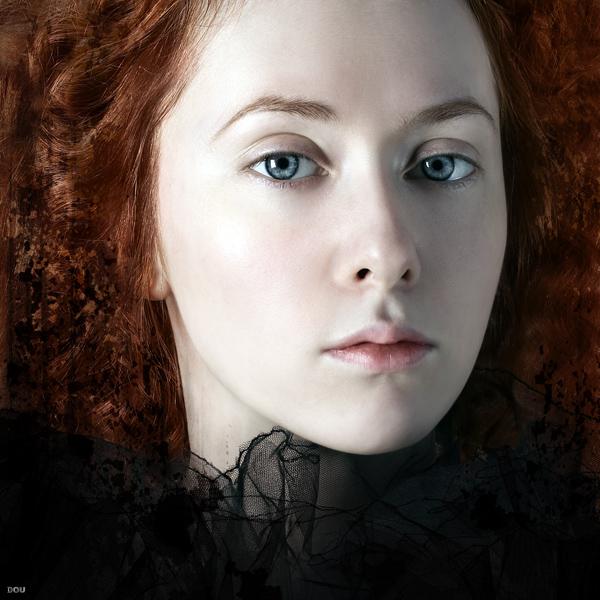 Porcelain | curls, redhead