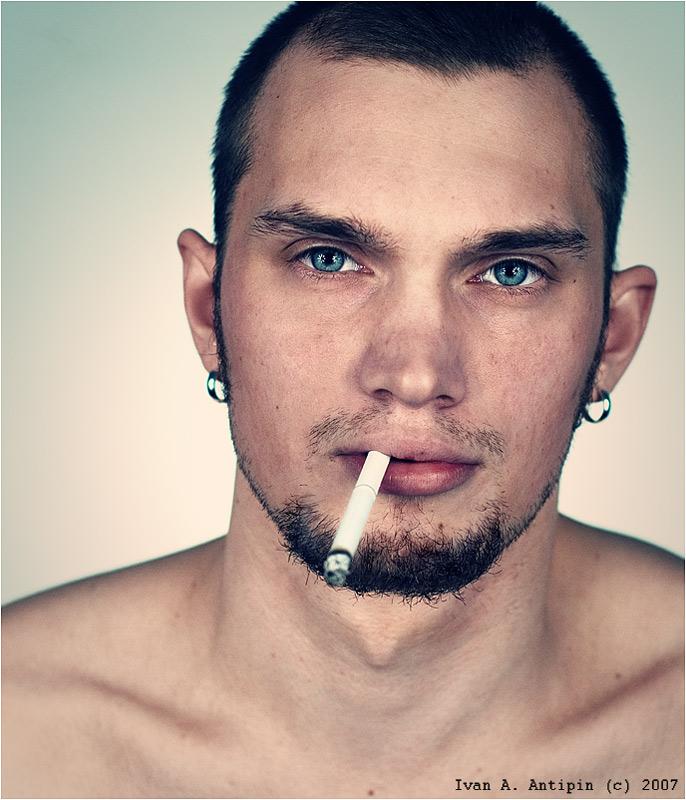 Nirt | male, piercing, cigarette