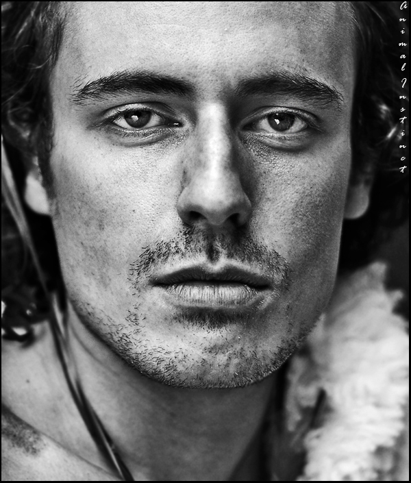 """From the """"Strict view male portrait"""" series 