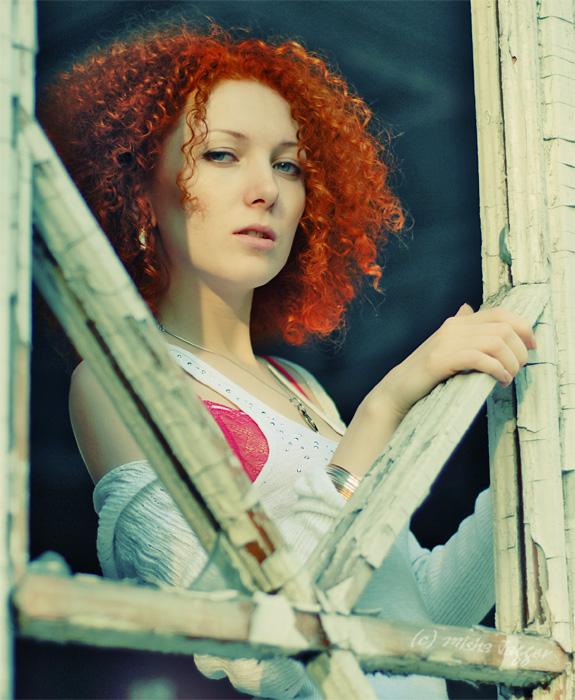 The sunniest | woman, curls, redhead
