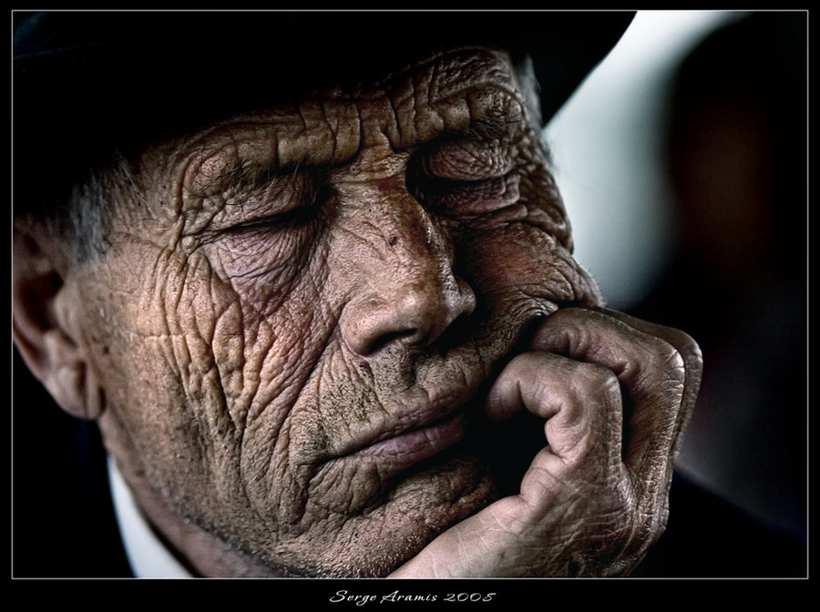 Furrow of life | hand, male, hat