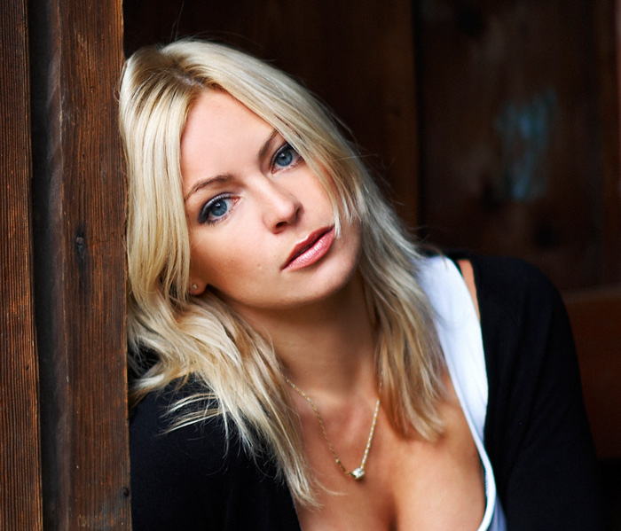 Tired   woman, blonde