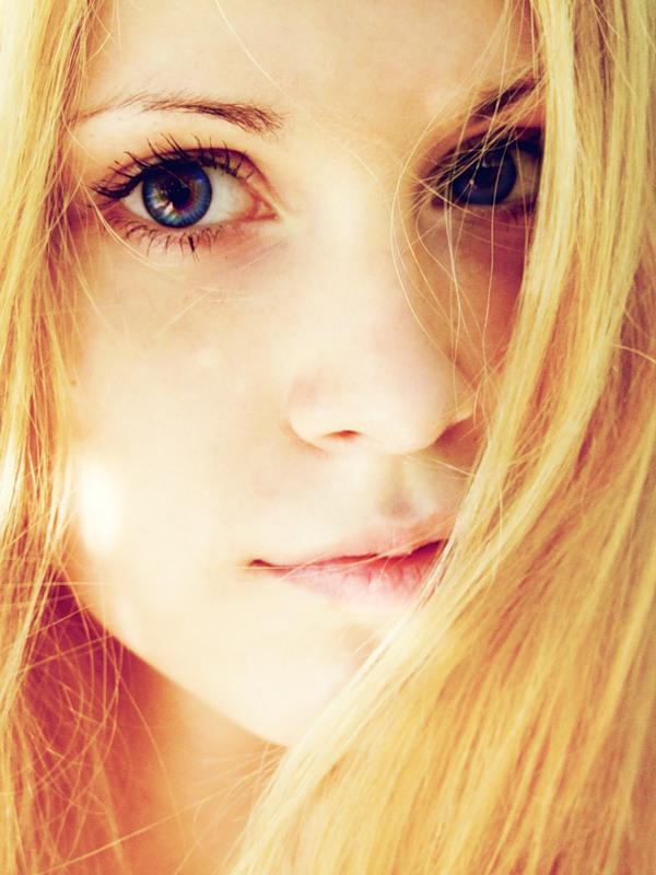 Morning | woman, blonde, hair