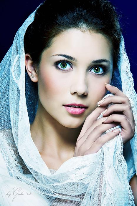 Bride   woman, hand, veil
