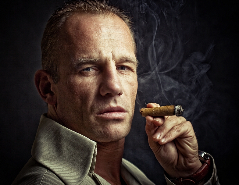 Smoke   male, cigar, smoke