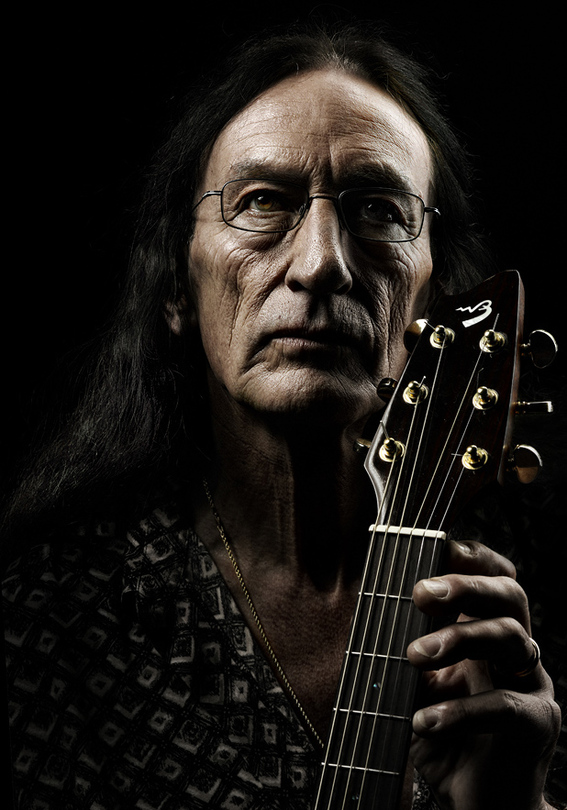 Till my guitar gently weeps | guitar , fingers, low key, male
