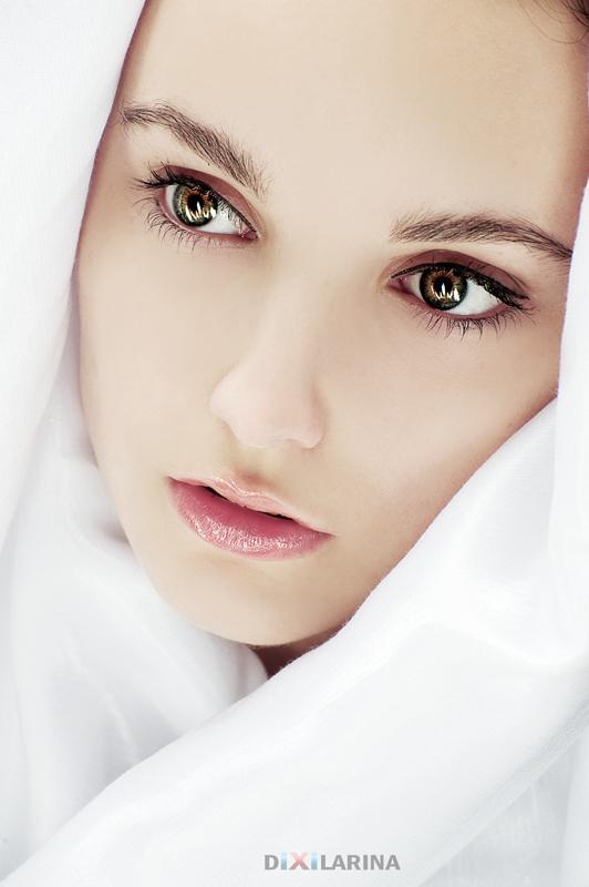Eyes | close-up, eyes, fabric