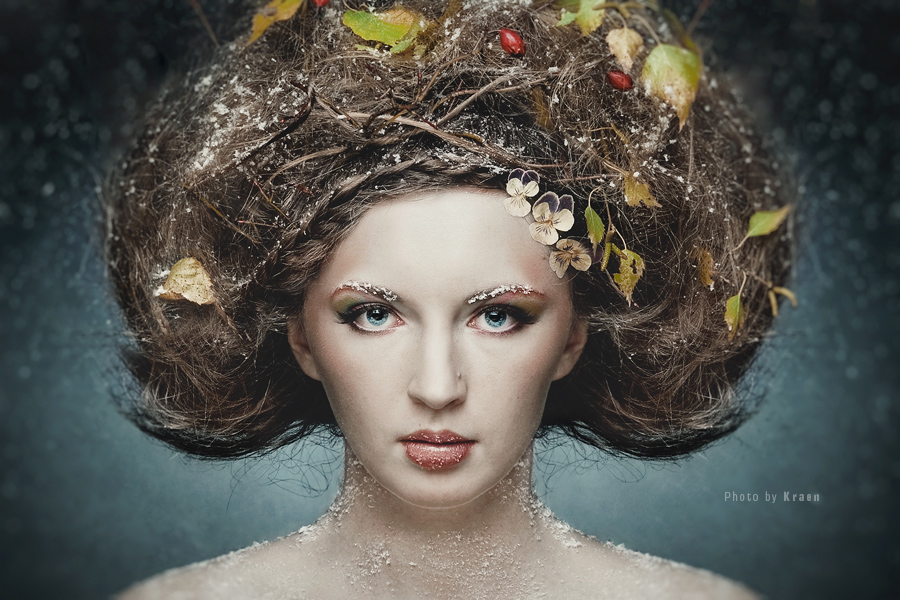 Fairy | nature, hairstyle, make-up
