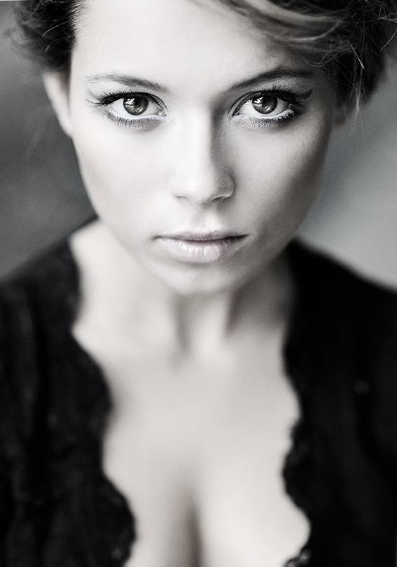 Sylvia   black and white