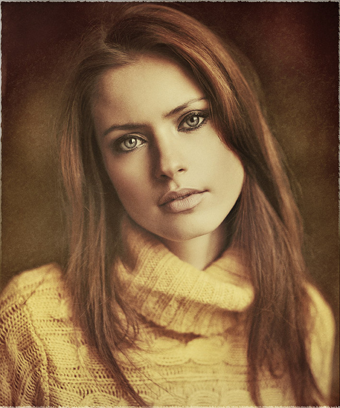 Simply the best  | desaturation, redhead, rendering