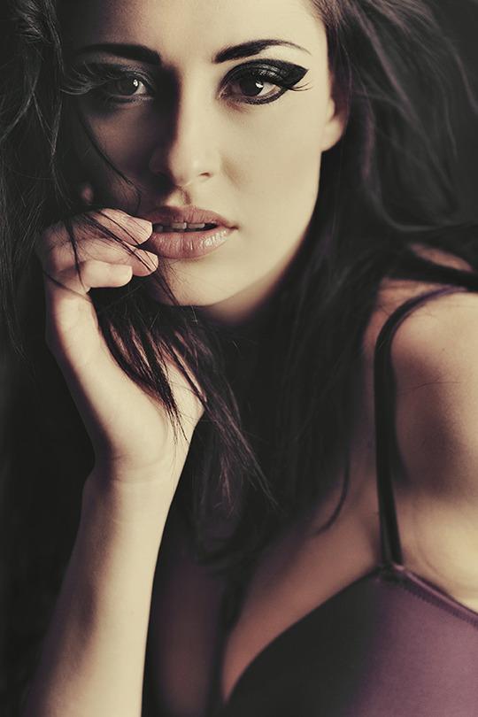 Marta | lingerie, brunette, rendering