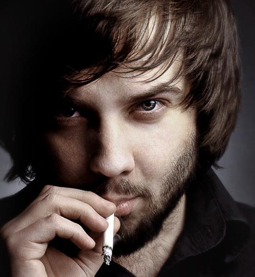 Self-portrait | cigarette, male