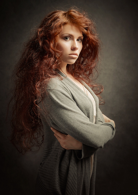 Portrait photography redhead