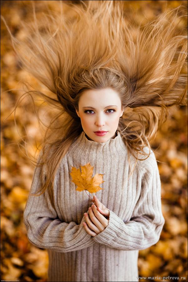 Autumn leaflet | blur, hair, nature