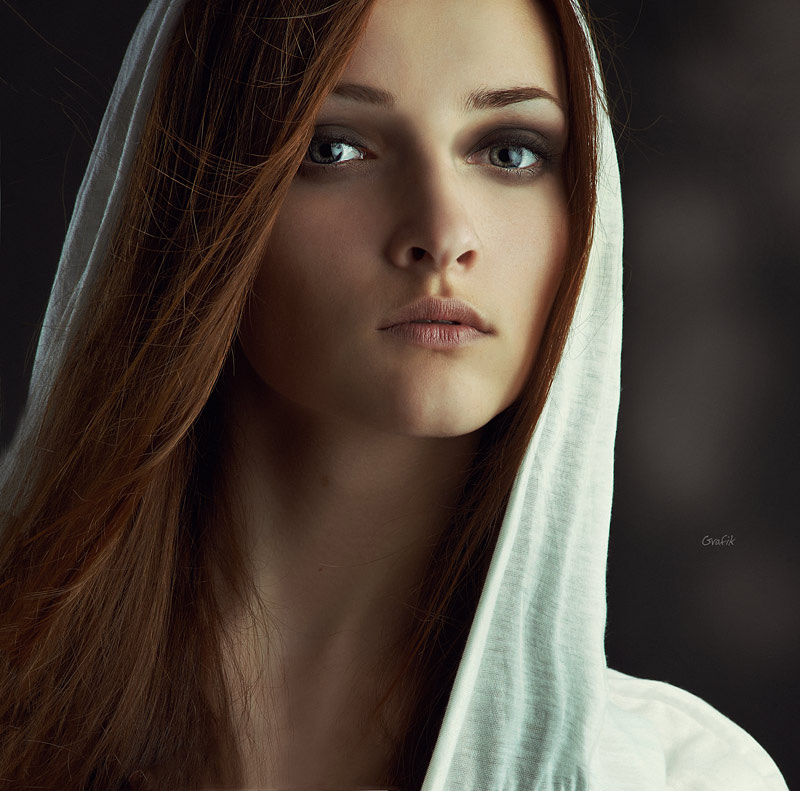 Mistrust | long hair, hood