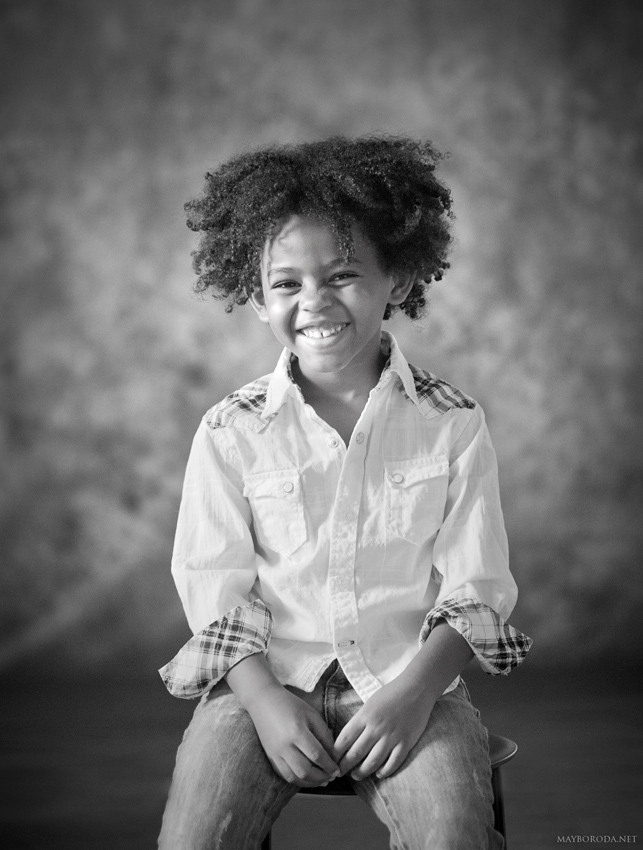 African child   africa, child, black & white, Afro hair-cut