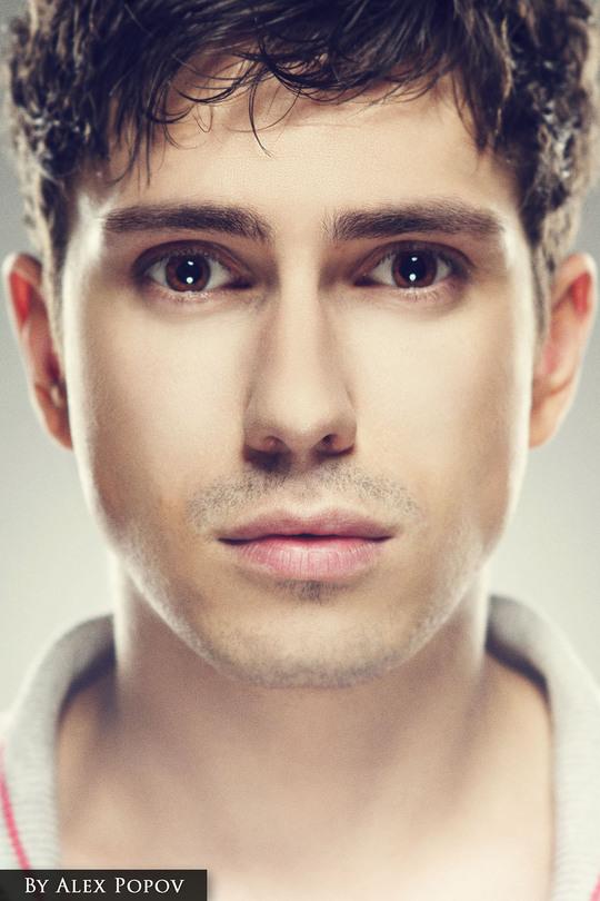 Close up portrait | close up, portrait photograph , handsome man, short haircut