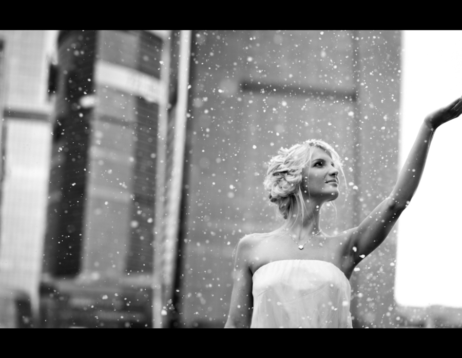 Under the snow | girl, blond, snow, USA