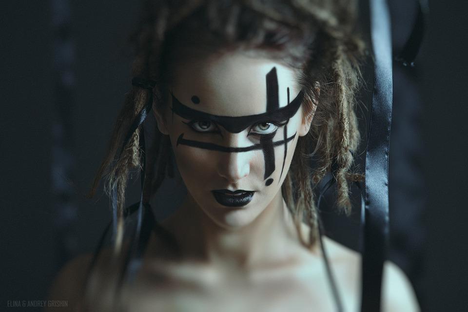 Goth | goth, dreads, castle, blade