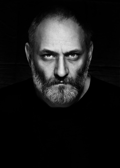 Stare of a man | portrait, model, man, black & white, eyes, black, beard, face, stare