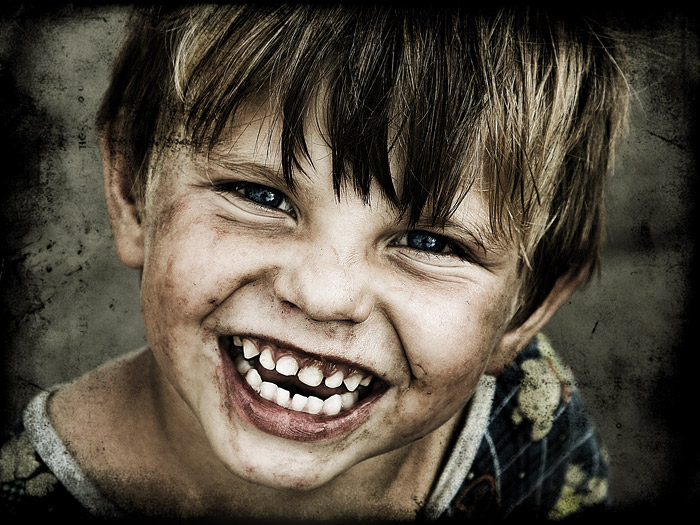 Smile | emotion, child, desaturation