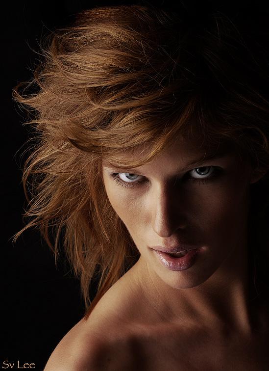 Predator   woman, emotion, low key